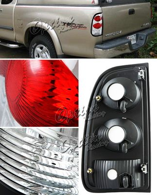 Toyota Tundra 2000-2004 Clear Altezza Tail Lights