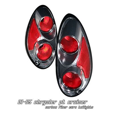 Chrysler PT Cruiser 2001-2005 Carbon Fiber Altezza Tail Lights