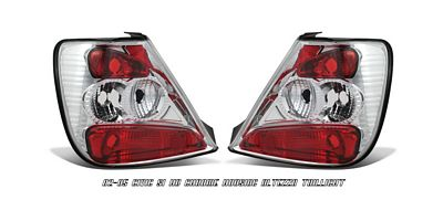 Honda Civic Si Hatchback 2002-2005 Clear Altezza Tail Lights