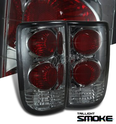 Chevy Blazer 1995-2004 Smoked Altezza Tail Lights