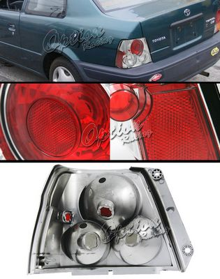 Toyota Tercel 1995-2000 Clear Altezza Tail Lights