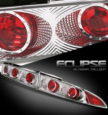 Mitsubishi Eclipse 1995-1999 Clear Altezza Tail Lights