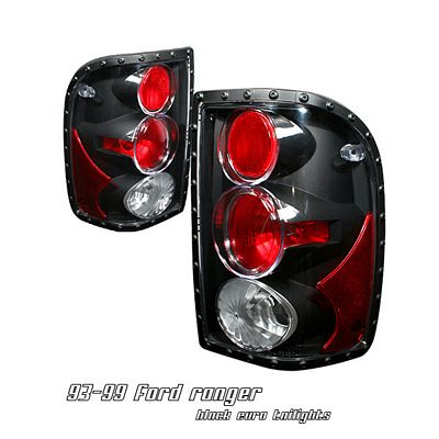 Ford Ranger 2001-2005 Black Altezza Tail Lights