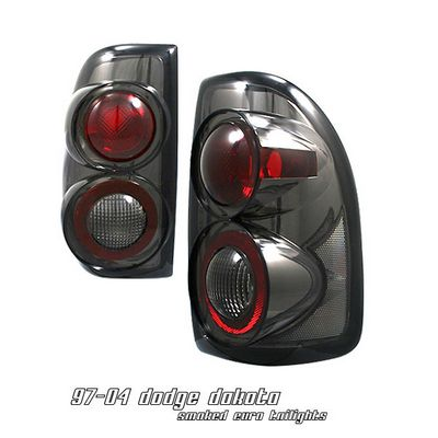 Dodge Dakota 1997 2004 Smoked Altezza Tail Lights A101b8y7110 Topgearautosport