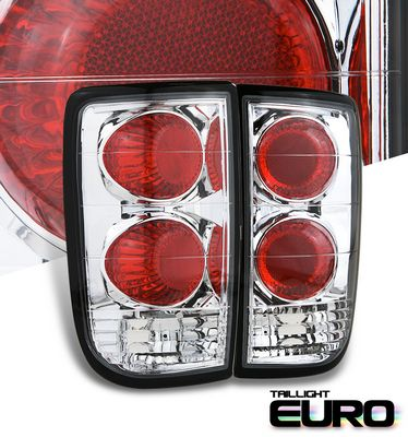 Chevy Blazer 1995-2004 Clear Altezza Tail Lights