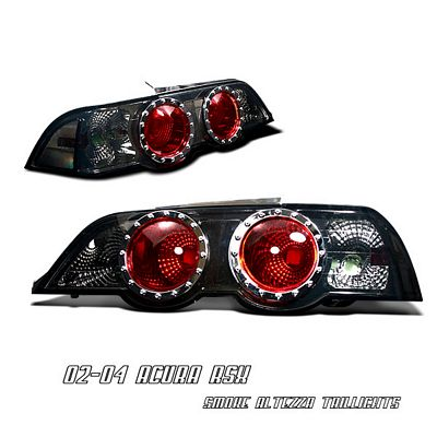 Acura RSX 2002-2004 Smoked Altezza Tail Lights