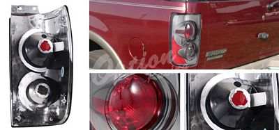 Ford Expedition 1997-2002 Smoked Altezza Tail Lights