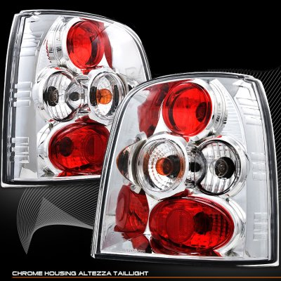 Audi A4 Station Wagon 1995-2001 Clear Altezza Tail Lights