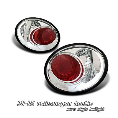 VW Beetle 1998-2005 Clear Altezza Tail Lights