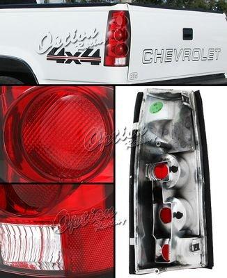 GMC Yukon Denali 1999-2000 Red Altezza Tail Lights