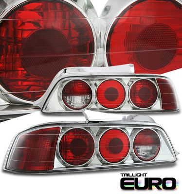 Honda Prelude 1997-2001 Clear Altezza Tail Lights
