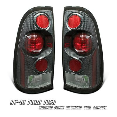 Ford F150 1997-2003 Carbon Fiber Altezza Tail Lights