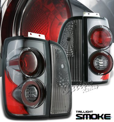 Lincoln Navigator 1998-2002 Smoked Altezza Tail Lights
