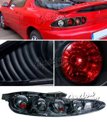 Mazda MX3 1992-1996 Black Altezza Tail Lights
