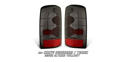 Chevy Suburban 2000-2006 Smoked Altezza Tail Lights