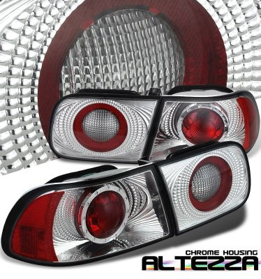Honda Civic 1992-1995 Clear Altezza Tail Lights