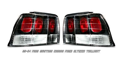 Ford Mustang 1999-2004 Carbon Fiber Altezza Tail Lights