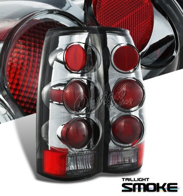 Chevy Suburban 1992-1999 Smoked Altezza G2 Tail Lights