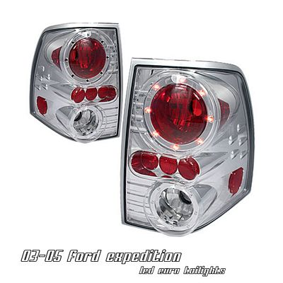Ford Expedition 2003-2006 Clear LED Cap Altezza Tail Lights