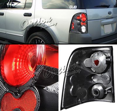 Ford Explorer 2002-2004 Carbon Fiber Altezza Tail Lights