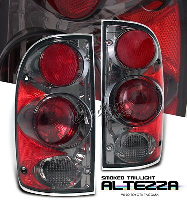 Toyota Tacoma 1995-2000 Smoked Altezza Tail Lights