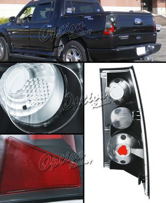Ford Explorer Sport Trac 2001 2005 Black Altezza Tail Lights