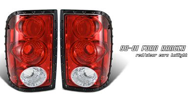 Ford Ranger 2001-2005 Red and Clear Altezza Tail Lights