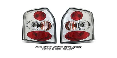 Audi A4 Station Wagon 2002-2005 Clear Altezza Tail Lights