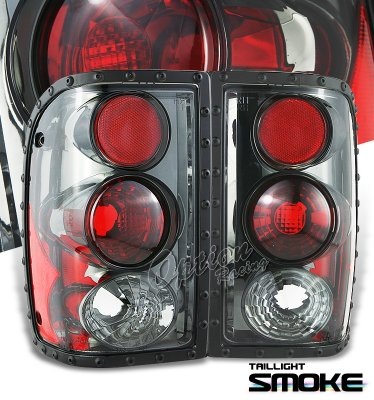 Ford Ranger 2001-2005 Smoked Altezza Tail Lights