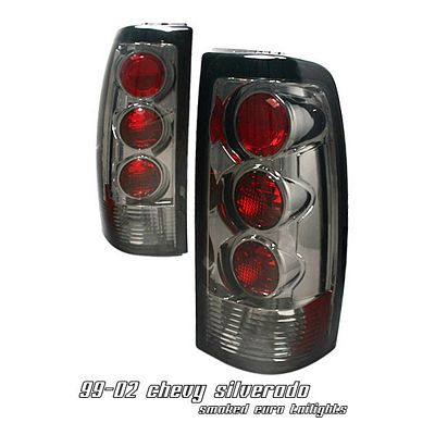 GMC Sierra 1999-2002 Smoked Altezza Tail Lights