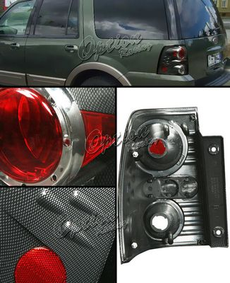 Ford Expedition 2003-2006 Carbon Fiber Altezza Tail Lights