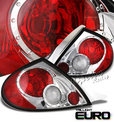 Dodge Neon 2000-2002 Clear Altezza Tail Lights
