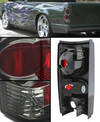 Chevy S10 1982-1993 Smoked Altezza Tail Lights