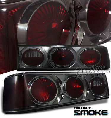 Ford Mustang 1987-1993 Smoked Altezza Tail Lights
