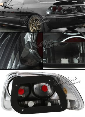 Honda Del Sol 1993-1997 Smoked Altezza Tail Lights