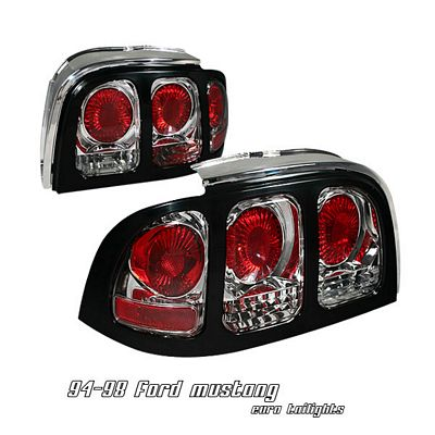Ford Mustang 1994-1998 Clear Altezza Tail Lights