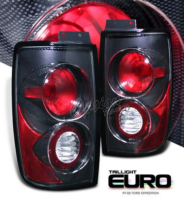 Ford Expedition 1997-2002 Carbon Fiber Altezza Tail lights