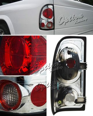 Dodge Dakota 1997-2004 Smoked Altezza Tail Lights