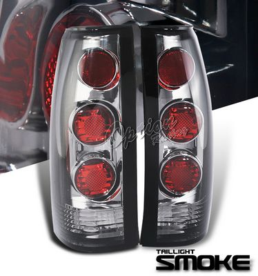 Cadillac Escalade 1999-2000 Smoked Altezza Tail lights