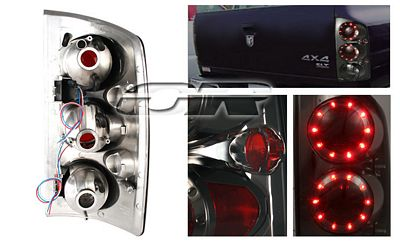 Dodge Ram 2002-2005 Smoked LED Cap Altezza Tail Lights