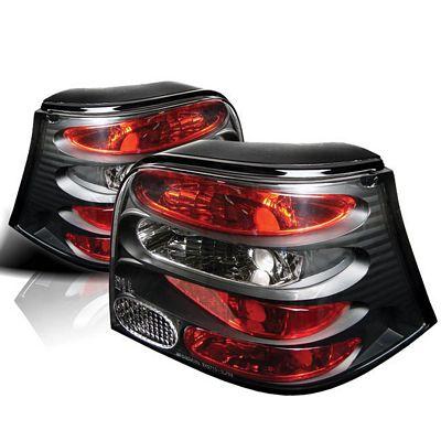 VW Golf 1999-2004 Black Altezza Tail Lights