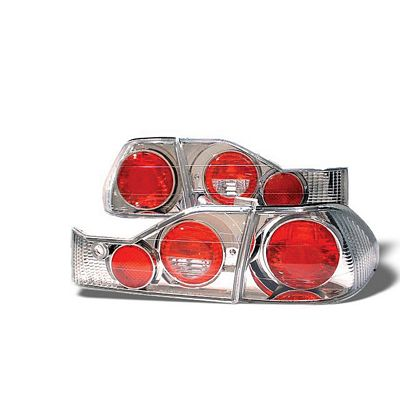 Honda Accord Sedan 1998-2000 Clear Altezza Tail Lights