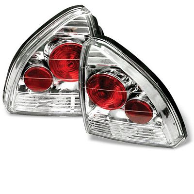 Honda Prelude 1992-1996 Clear Altezza Tail Lights