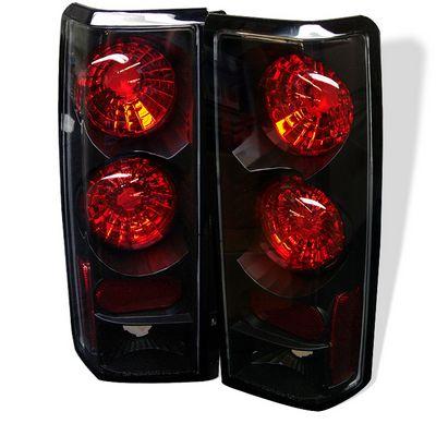 GMC Safari 1985-2004 Black Altezza Tail Lights