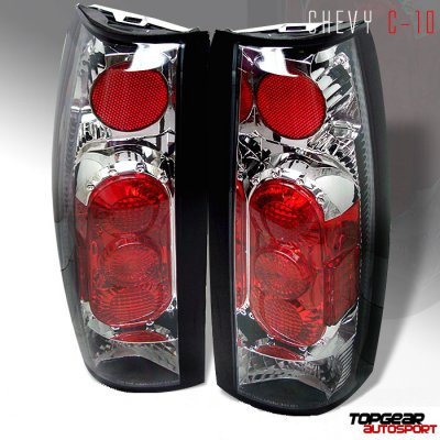 Chevy Suburban 1992-1999 Clear Altezza Tail Lights