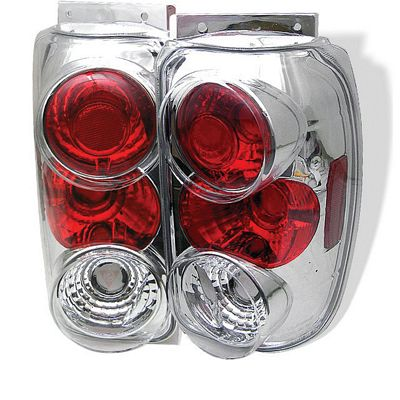 Ford Explorer 1995-1997 Clear Altezza Tail Lights