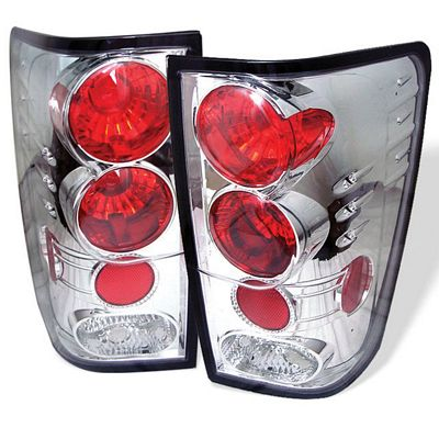 Nissan Titan 2004-2012 Clear Altezza Tail Lights