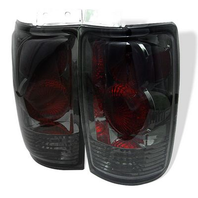 Ford Expedition 1997-2001 Smoked Altezza Tail Lights
