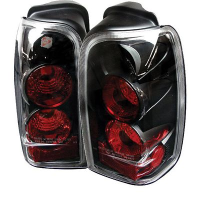 Toyota 4Runner 1996-2002 Black Altezza Tail Lights