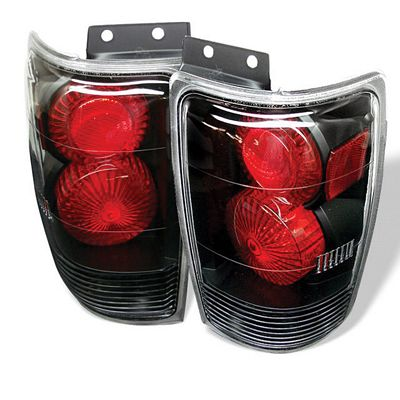 Ford Expedition 1997-2001 Black Altezza Tail Lights